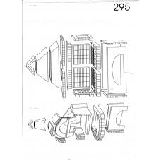 Σύνθεση ψησταριάς φούρνου A.S. factory 295