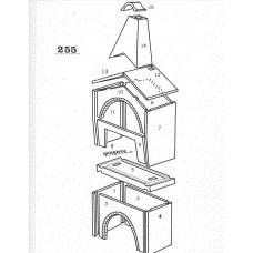 Ξυλόφουρνος κυκλοθερμικός A.S. factory 255 με επένδυση  inox edition