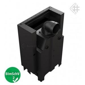 Ενεργειακό τζάκι Kratki MBM/G ίσιο 10kw συρόμενη πόρτα