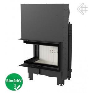 Ενεργειακό τζάκι Kratki MBM/L/BS/G αριστερή γωνία/συρόμενη πόρτα 10kw