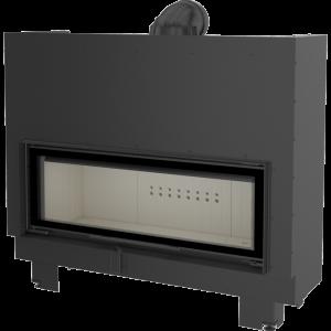 Ενεργειακό τζάκι Kratki MB120/G ίσιο 22kw συρόμενη πόρτα