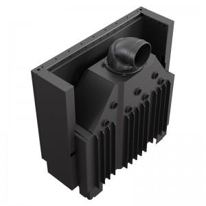 Ενεργειακό τζάκι Kratki MB100/G ίσιο 14kw συρόμενη πόρτα