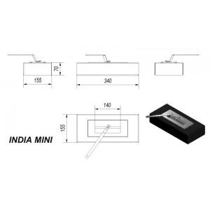 Τζάκι Βιοαιθανόλης Kratki India Mini