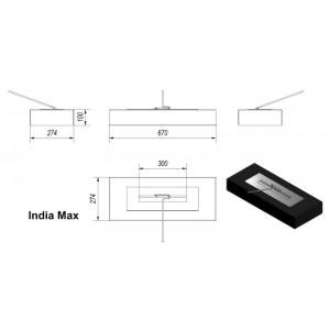 Τζάκι Βιοαιθανόλης Kratki India max
